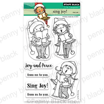 Penny Black Clear Stamps SING JOY 30 751*