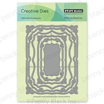 Penny Black GRACEFUL STACKERS Thin Metal Creative Dies 51 658* Preview Image