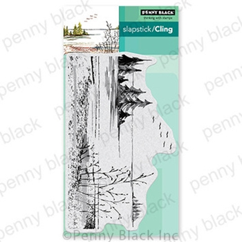 Penny Black Cling Stamp QUIETUDE 40 765*