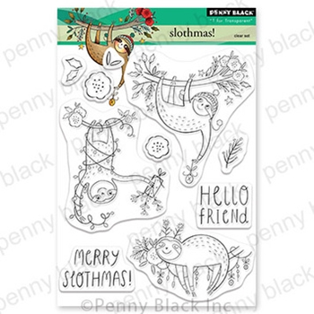 Penny Black Clear Stamps SLOTHMAS 30 782