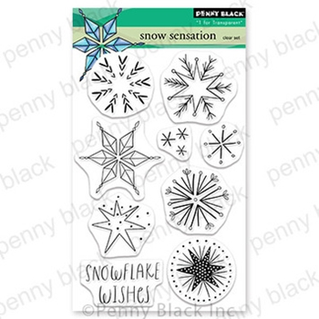 Penny Black Clear Stamps SNOW SENSATION 30 780