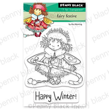 Penny Black Clear Stamps FAIRY FESTIVE 30 774