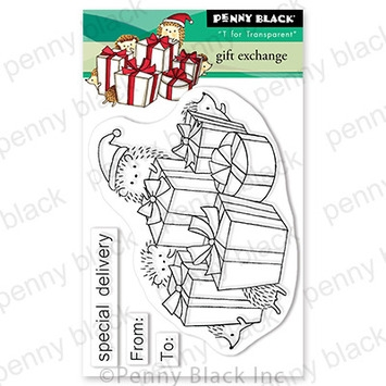 Penny Black Clear Stamps GIFT EXCHANGE 30 757 zoom image