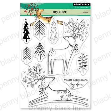 Penny Black Clear Stamps MY DEER 30 756 zoom image
