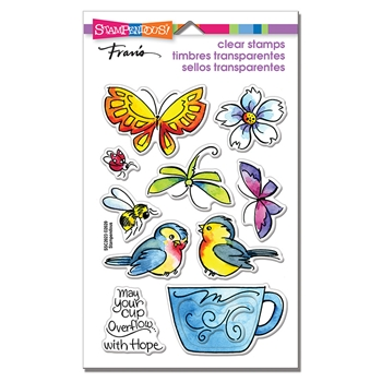 Stampendous Clear Stamps WINGED CUP ssc2023