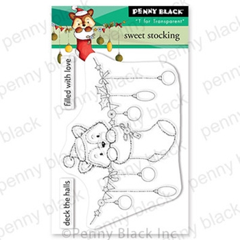 Penny Black Clear Stamps SWEET STOCKING 30 754