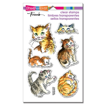 Stampendous Clear Stamps KITTY MISCHIEF ssc2025