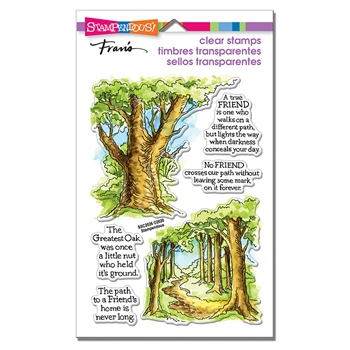 Stampendous Clear Stamps FOREST PATH ssc2026
