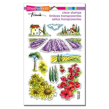 Stampendous Clear Stamps FIELD OF FLOWERS ssc2027