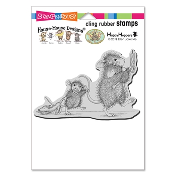 Stampendous Cling Stamp BEDTIME BABIES hmcp131 House Mouse*