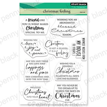 Penny Black Clear Stamps CHRISTMAS FEELING 30 737