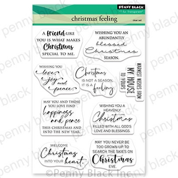 Penny Black Clear Stamps CHRISTMAS FEELING 30 737 zoom image