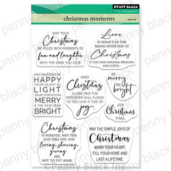 Penny Black Clear Stamps CHRISTMAS MOMENTS 30 731