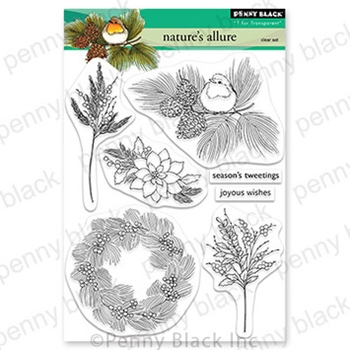 Penny Black Clear Stamps NATURE'S ALLURE 30 729