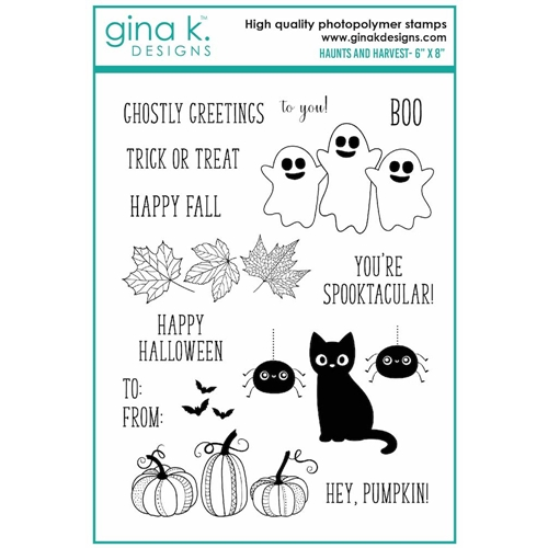 Gina K Designs HAUNTS AND HARVEST Clear Stamps 6996 Preview Image