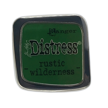 Tim Holtz Distress Enamel Pin November 2020 New RUSTIC WILDERNESS Ranger tdz73161