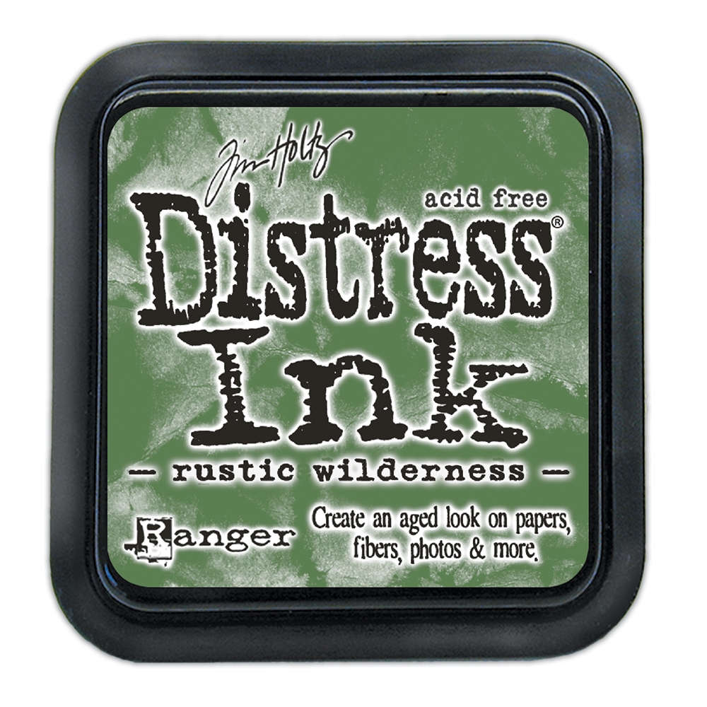 Tim Holtz Distress Ink Pad November 2020 New RUSTIC WILDERNESS Ranger tim72805 zoom image