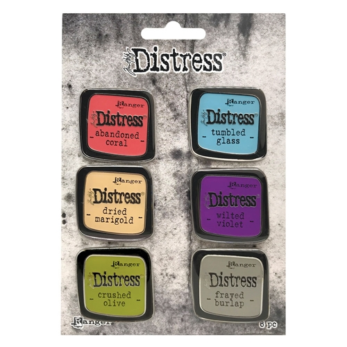 Tim Holtz Distress Enamel Pin SET 3 Ranger tdzs73451 Preview Image