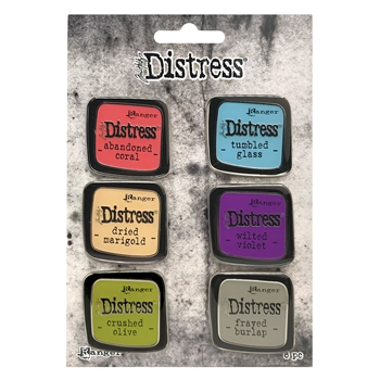 Tim Holtz Distress Enamel Pin SET 3 Ranger tdzs73451
