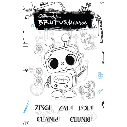 Brutus Monroe CLANK Clear Stamps bru5966 Preview Image