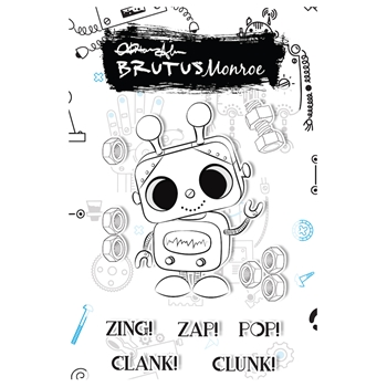 Brutus Monroe CLANK Clear Stamps bru5966