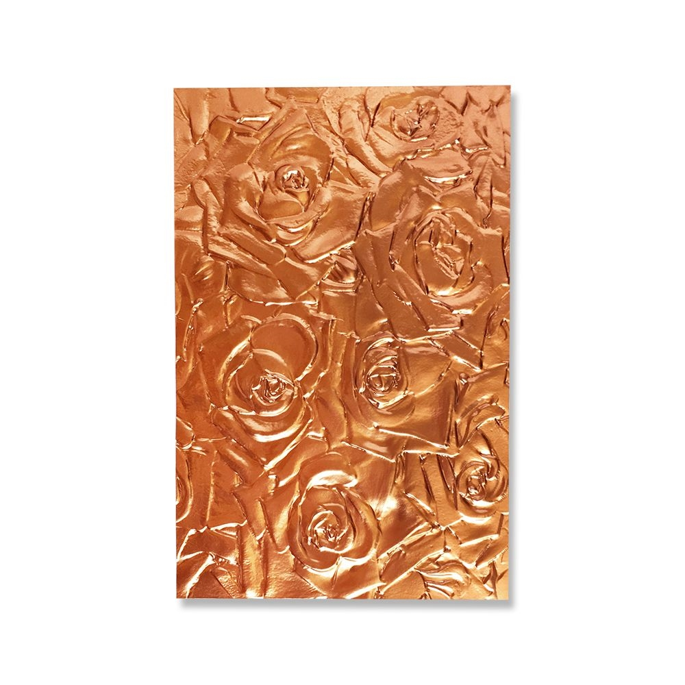 Sizzix WILDFLOWERS Textured Impressions Embossing Folder 664246 zoom image