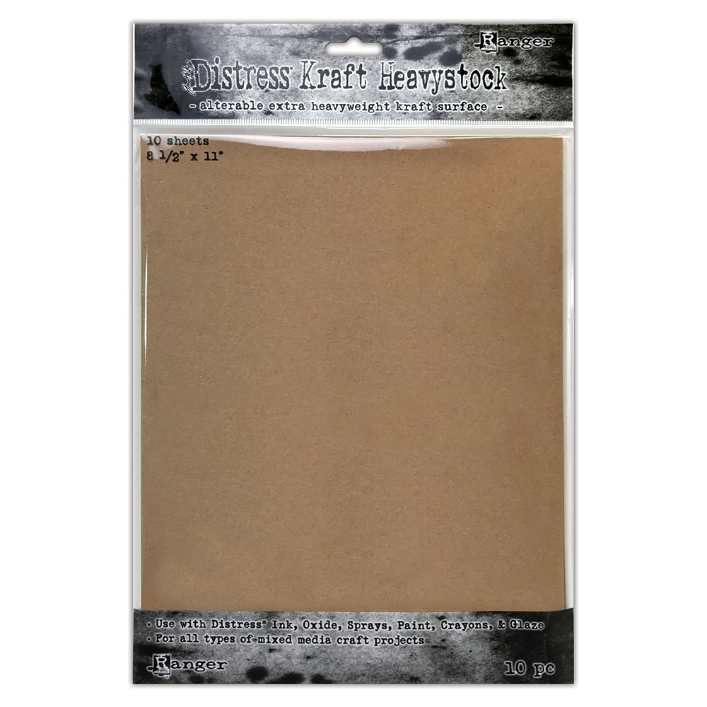 Tim Holtz 8.5 X 11 DISTRESS KRAFT HEAVYSTOCK Ranger tda76384 zoom image
