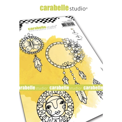 Carabelle Studio BOHO DREAM Cling Stamps sa60516* Preview Image