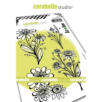 Carabelle Studio MORNING BOUQUET Cling Stamps sa60518