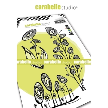 Carabelle Studio SUNFLOWERS Cling Stamps sa60519