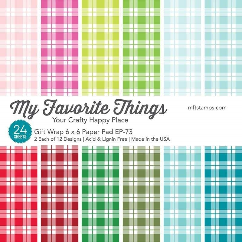 My Favorite Things GIFT WRAP 6x6 Inch Paper Pad 7058 zoom image