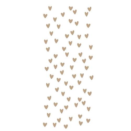 GLP 242 Spellbinders SCATTERED HEARTS BACKGROUND Glimmer Hot Foil Plate Preview Image