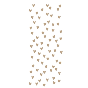 GLP 242 Spellbinders SCATTERED HEARTS BACKGROUND Glimmer Hot Foil Plate