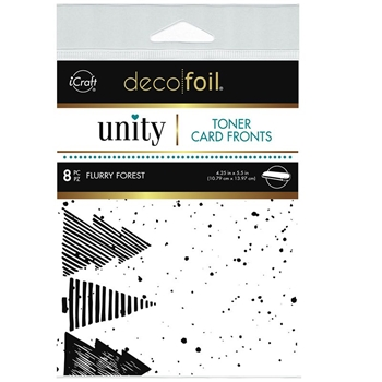 Therm O Web Unity FLURRY FOREST DecoFoil Toner Card Fronts 19066
