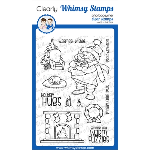 Whimsy Stamps WARM FUZZIES Clear Stamps CWSD246a Preview Image