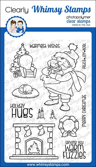 Whimsy Stamps WARM FUZZIES Clear Stamps CWSD246a zoom image