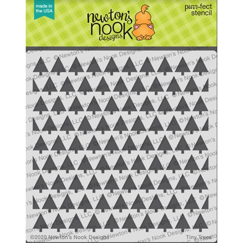 Newton's Nook Designs TINY TREE Stencil NN2010T01 Preview Image