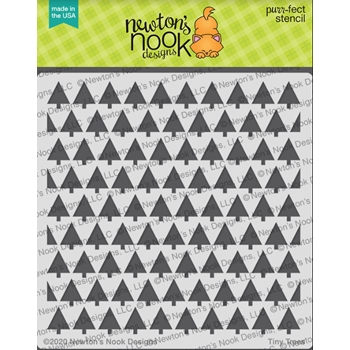 Newton's Nook Designs TINY TREE Stencil NN2010T01