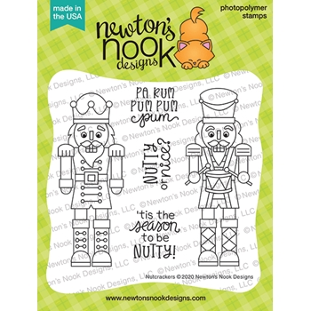Newton's Nook Designs NUTCRACKERS Clear Stamps NN2010S06