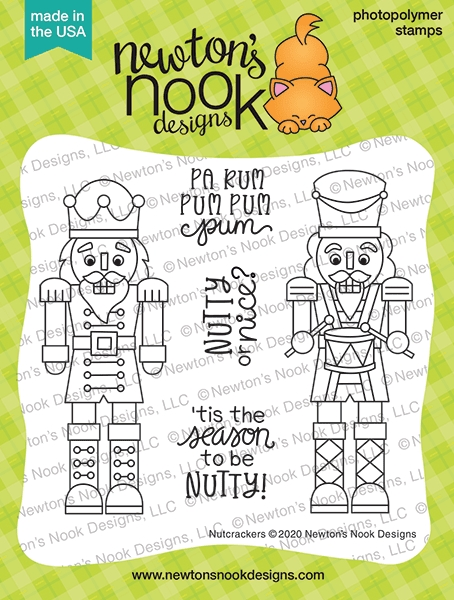 Newton's Nook Designs NUTCRACKERS Clear Stamps NN2010S06 zoom image