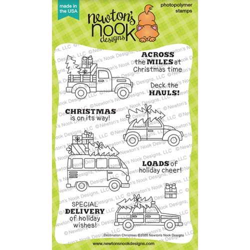 Newton's Nook Designs DESTINATION CHRISTMAS Clear Stamps NN2010S04 Preview Image