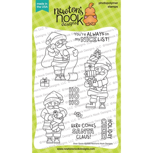 Newton's Nook Designs DEAR SANTA Clear Stamps NN2010S03 Preview Image