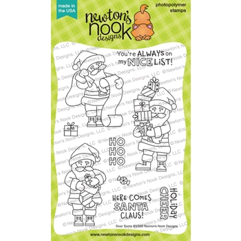 Newton's Nook Designs DEAR SANTA Clear Stamps NN2010S03