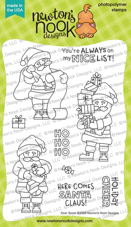 Newton's Nook Designs DEAR SANTA Clear Stamps NN2010S03 zoom image