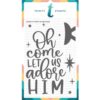 Trinity Stamps ADORE Clear Stamp Set tps091*