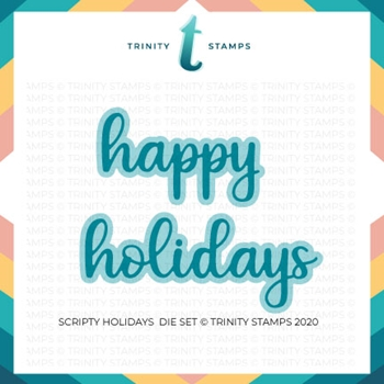 Trinity Stamps SCRIPTY HOLIDAYS Die Set tmd045