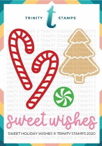 Trinity Stamps SWEET HOLIDAY WISHES Die Set tmd046