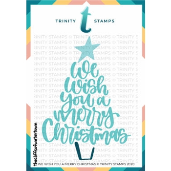 Trinity Stamps WE WISH YOU A MERRY CHRISTMAS Die Set tmd047