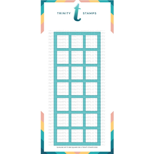 Trinity Stamps SLIMLINE HIP TO BE SQUARE Die Set tmd051 Preview Image