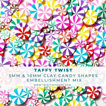 Trinity Stamps TAFFY TWIST Embellishment Box tsb143